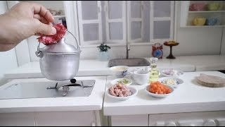 ASMR COOKING: SPAM FRIED RICE  (cooking toys real food can eat) (KITCHEN TOYS)  (Cooking sound)