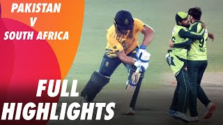 Full Highlights | Pakistan vs South Africa | MA2T