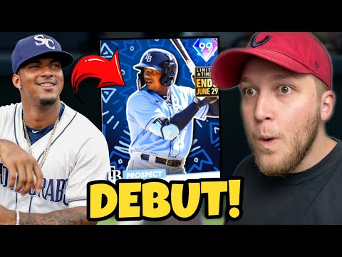 i put the *NEW* 99 WANDER FRANCO on my GOD SQUAD and played at Polo Grounds.. MLB The Show 21