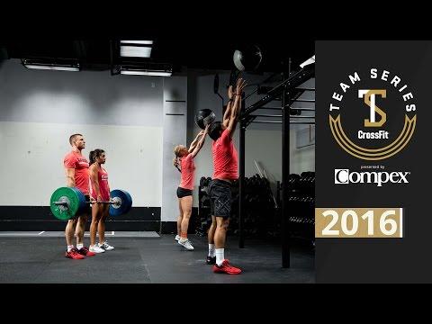 CrossFit Team Series 2016: Event 5 Demo