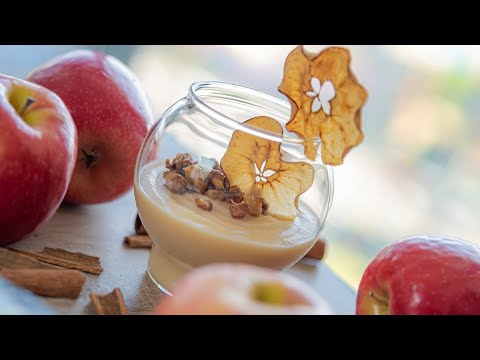 ЯБЛОЧНЫЙ КРЕМ МУСС 🍎 самое вкусное яблочное пюре 🍏 простой яблочный десерт   легкий рецепт