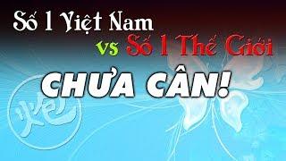 Cờ Tướng đỉnh cao ván cờ hay giữa số 1 Việt Nam Trềnh A Sáng và số 1 Thế Giới Lữ Khâm