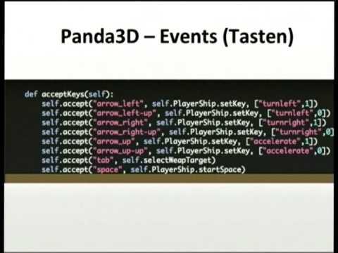 Image from Python und Spieleentwicklung mit Panda3D
