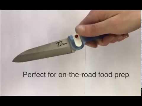 Ultralight Titanium Folding Knife