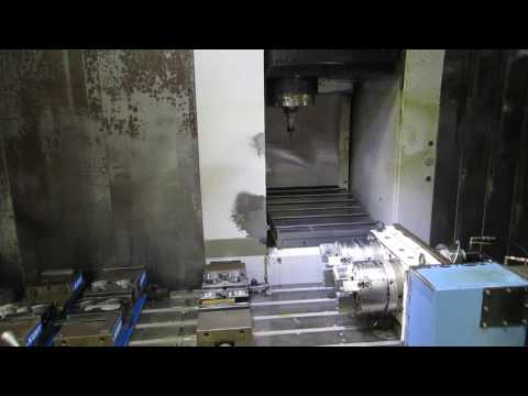Mazak VTC-200C CNC 4-Axis VMC with Dual Rotary Table For Sale At www.machinesused.com
