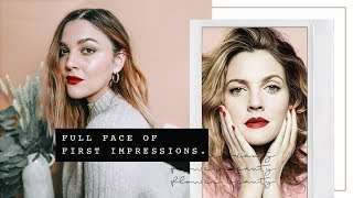 FULL FACE OF FIRST IMPRESSIONS | FLOWER BEAUTY | I Covet Thee