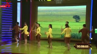 Tiết mục múa dân gian độc đáo chiếm tình cảm khán giả!