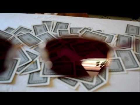 Un mazzo di carte da poker segnato in vendita sul