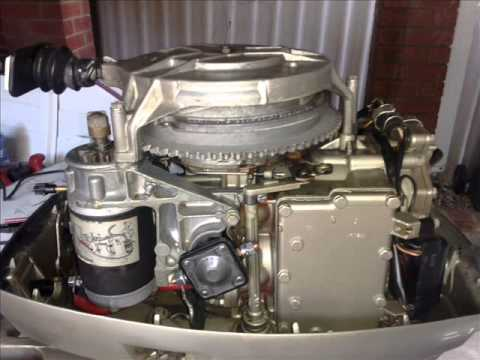 35hp evinrude electric conversion 1978 model youtube. Black Bedroom Furniture Sets. Home Design Ideas