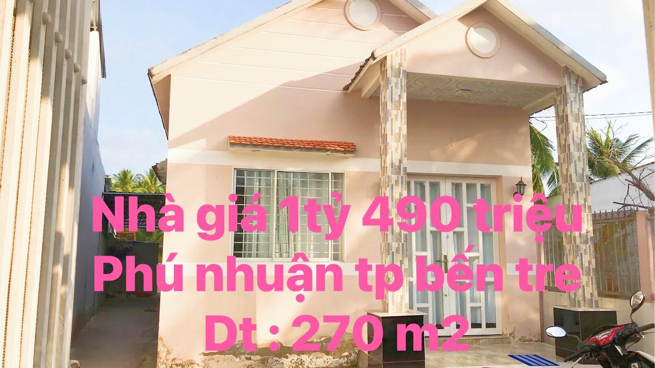 Nhà Phú Nhuận DT khuôn viên 270 m2 giá 1 tỷ 490 triệu video