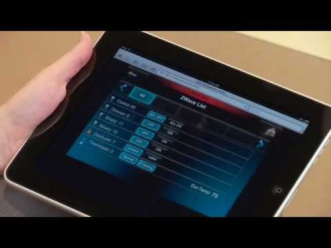 Honeywell Tuxedo Touch Security System