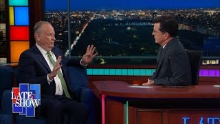 Stephen Colbert and Bill O'Reilly Discuss The Political Response To Orlando