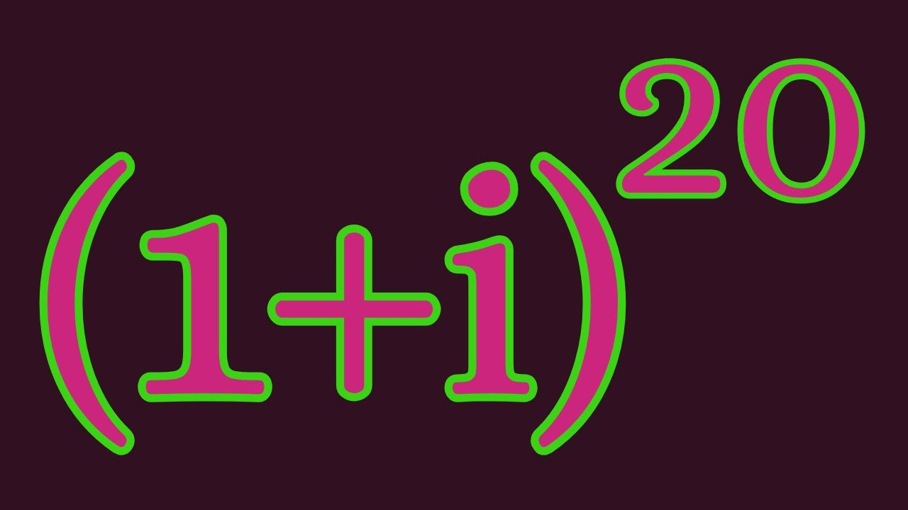 A nice #shorts trick for complex numbers.