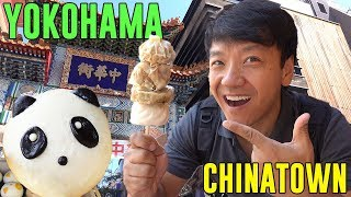 The LARGEST CHINATOWN in Asia! STREET FOOD Tour of Yokohama Chinatown