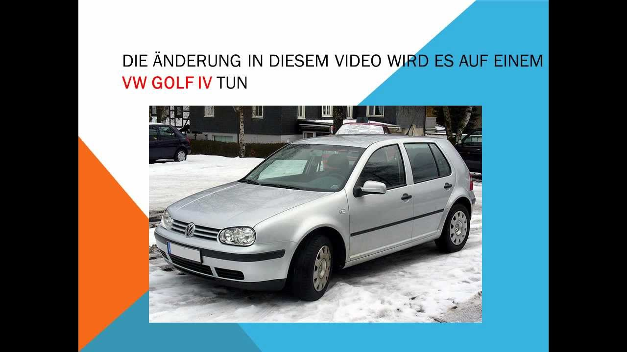 so ersetzen sie den innenraumfilter auf einem volkswagen golf iv youtube. Black Bedroom Furniture Sets. Home Design Ideas