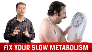 How to Fix a Slow Metabolism: MUST WATCH!