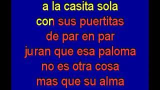 Cucurrucucu Paloma   karaoke   Tony Ginzo wmv
