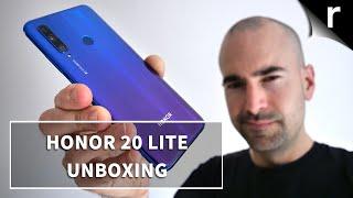 Honor 20 Lite Unboxing & Tour