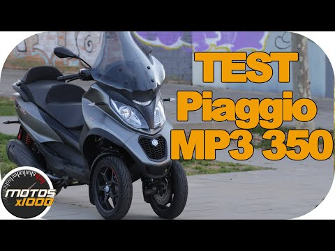 Test Piaggio Mp3 350