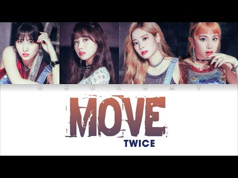 TWICE - MOVE(TAEMIN) Cover (Studio Ver.) [Color Coded Han/Rom/Eng Lyrics]