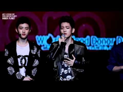 120616 Sukira Piano Concert - Baekhyun's singingㅠ_ㅠ♥