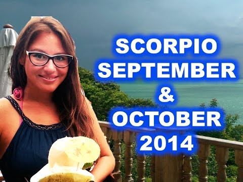 SCORPIO September and October 2014