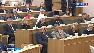 Александр Бурков сегодня отчитался о работе правительства перед депутатами Законодательного Собрания