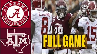 Alabama vs Texas A&M Full Game | College Football Week 5 | NCAAF 3/10/2020