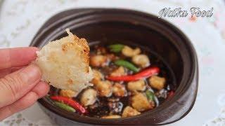 Cách làm kho quẹt cơm cháy ngon, món ăn hao cơm hao rau nhất