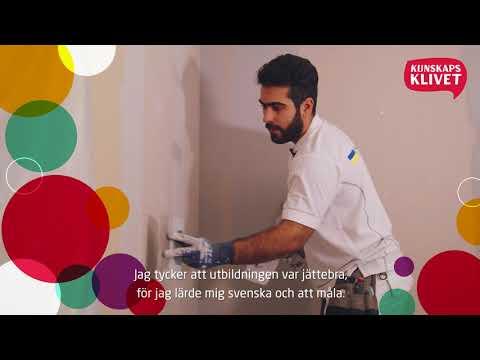 Kunskapsklivet - Den smarta vägen till arbete - Målare