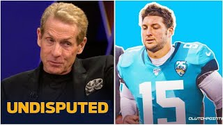 UNDISPUTED - Skip goes wild seeing Tim Tebow plays for the Jaguars next season