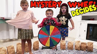 THE MYSTERY wheel decides my BACK TO SCHOOL OUTFIT!