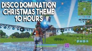 Fortnite Disco Domination Christmas Theme 10 Hours