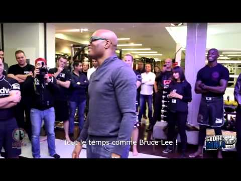 Baixar Stage privé d'Anderson Silva à l'Urban Kings Londres 2013