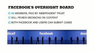 Facebook planea establecer una junta independiente para supervisar los problemas de moderación de contenido