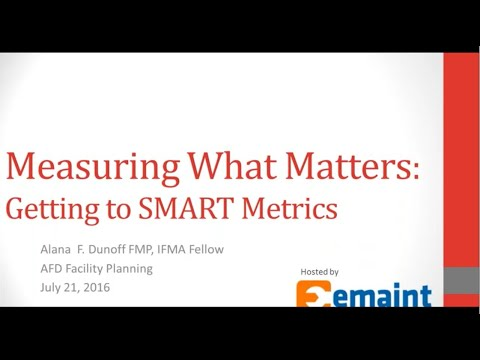 Best Practices Webinar: SMART Metrics that Make a Difference