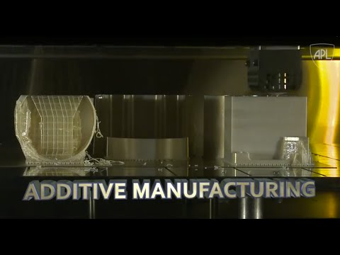 Additive Manufacturing at APL