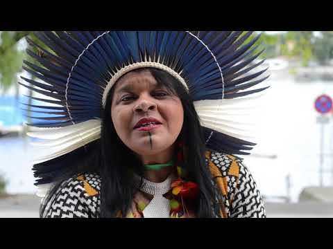 Sônia Guajajararepresents 300+ Brazilian indigenous groups