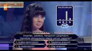 Kim Milyoner Olmak Ister 259. bölüm Işılay Kaçakgil 14.09.2013