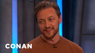 James McAvoy's Sensual Pennywise Nightmare - CONAN on TBS