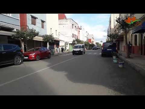 إخلاء شوارع وازقة حي الأندلس