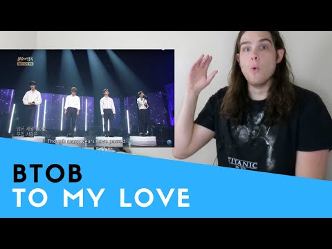 Voice Teacher Reacts to BTOB - To My Love | 비투비 - 님에게 [Immortal Songs 2/2016.08.27]