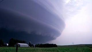 THE STORM OF A LIFETIME - Tornadoes & Lightning, Laurel NE