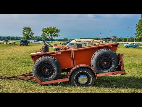 Picking Up Coot 4x4 at Vintage Car Auction