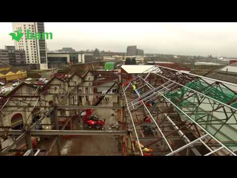 Latest drone video for UTC Leeds project