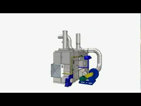 Unidad de Oxidación Térmica Regenerativa (RTO) - Colombia
