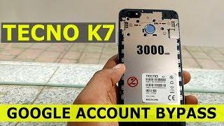 Tecno K7 Remove Google Account (Frp Lock) Android v7 0 No Pc - med