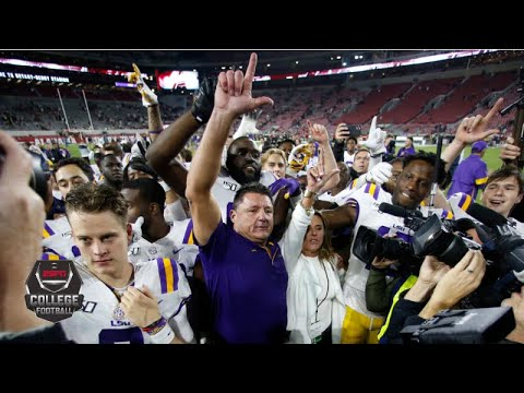 CFP Top 25 rankings reveal: LSU up to No. 1, Alabama out of top 4 | College Football on ESPN