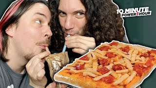 Instant PIZZA... The BEST MRE Taste Test - 10 Minute Power Hour
