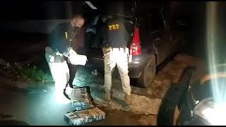 PRF prende prende paraguaia com mais de 100 quilos de maconha em Passo Fundo